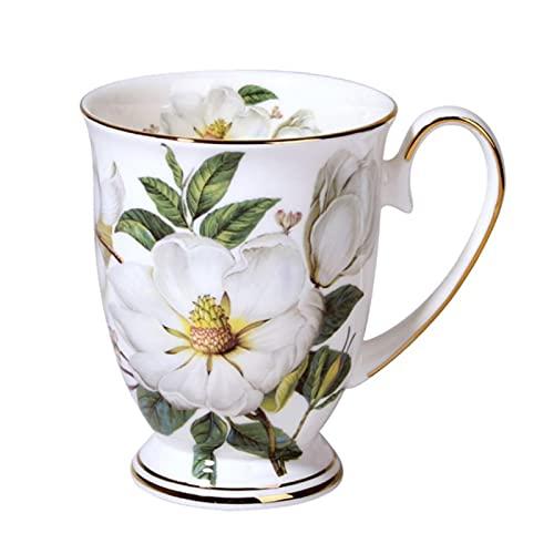 Tazas Cafe Cerámica Taza De Aguatazas De Porcelana De Hueso De Estilo Aristocrático Británico, Tazas De Café Con Flores De Cerámica, Tazas De Leche Retro Clásicas, Taza De Agua, Regalo Creativo