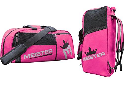 Meister Sporttasche, belüftet, wandelbar, ideal für Handgepäck, Pink