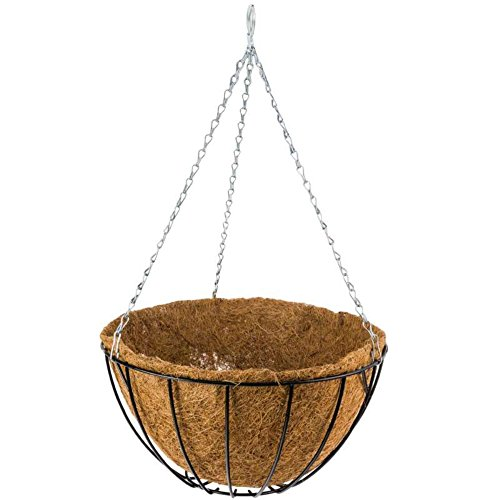 Gardman Porte Plante Suspendu + Fibre Coco 30cm
