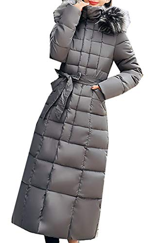 LiDaiJin wasserdichte Daunenjacke Damen gepolsterte Puffer Blase Pelzkragen warme Dicke Damen Jacke Mantel