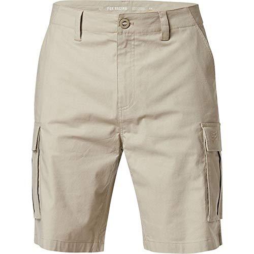 Fox Racing Pantalones cortos híbridos estándar para hombre, TAN, 31