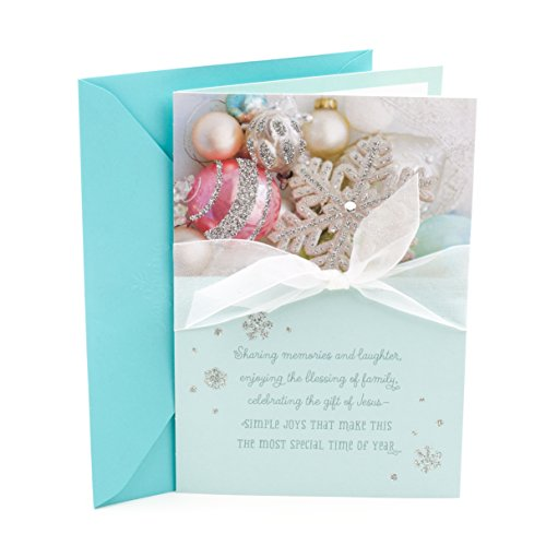 DaySpring Religious Christmas Card for Sister (Ornaments)