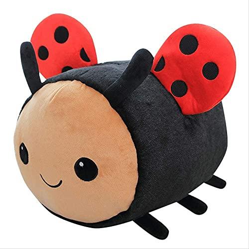 Abeja y mariquita 20 cm Lindo juguete de felpa Decoración de habitación Regalo de cumpleaños Muñeco de peluche Regalo creativo