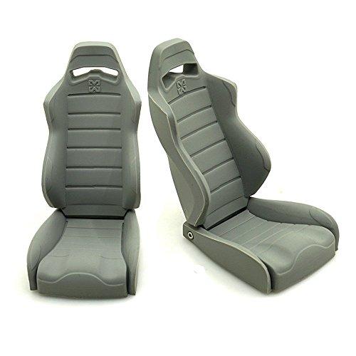 1/10 Dekoration Zubehör Simulation Gummi Autositz Stühle für 1/10 Axial Wraith 90018 RC Crawler Car