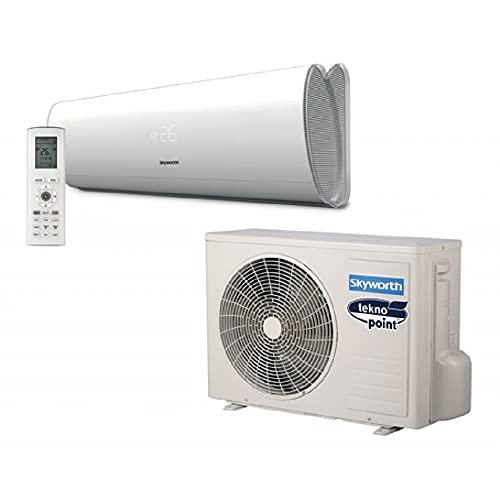 Climatizzatore a parete serie mono-split gas R32 ditta SKYWORTH (Modello VELA 12000 BTU unità interna + esterna)