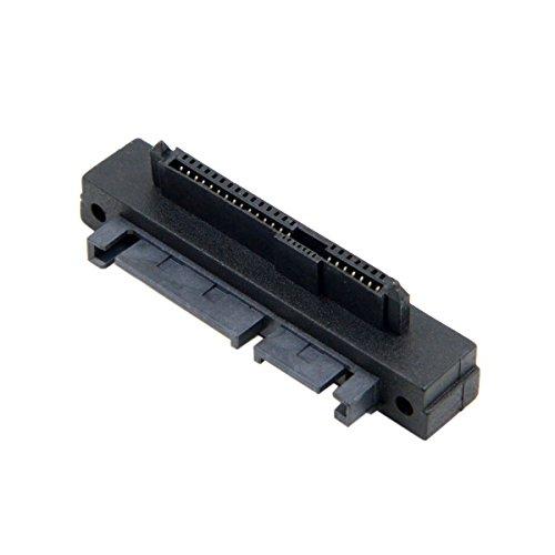 CY SFF-8482 SAS 22-poliger bis 7-poliger + 15-poliger SATA-Festplatten-RAID-Adapter mit 15-poligem Stromanschluss