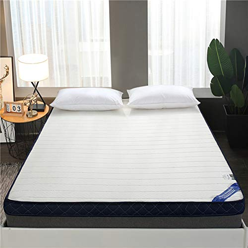 GWW Thicken Memory Foam Mattress Tatami Mattress, Foldable Student Dormitory Mattress Topper Pad Soft Roll Up Bed For Single Double Mattress-c 150x190cm(59x75inch)