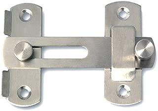 glass gate lock