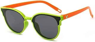 Fashion Boys and Girls Polarized Sunglasses Silicone Material Uv Sunshade Sunglasses,Green