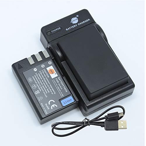 DSTE EN-EL9 - Batería y cargador para cámara Nikon D40, D40x, D60, D3000, D5000 (2 unidades)