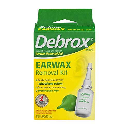 Debrox Ear Wax Removal W/ Size .5z Debrox Ear Wax Removal W/Bib .5z