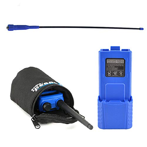 Best Price Rugged Radios RH5R-UPGRADE RH-5R Long Range Upgrade Kit - Includes Ducky Antenna, High Ca...