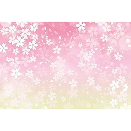 Fondos de decoración de fotografía de Fondo de Pintura de árbol floreciente Rosa de Mariposa de ensueño para Estudio fotográfico A5 10x7ft / 3x2,2 m