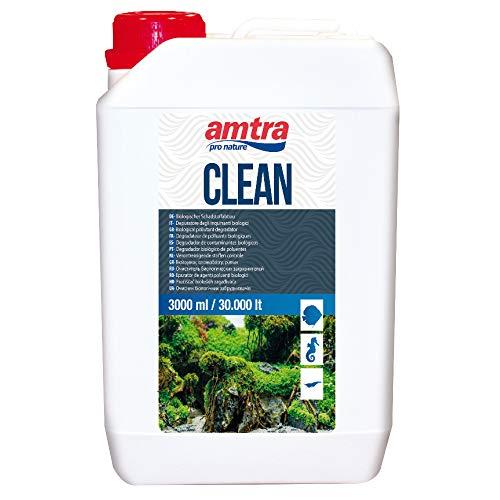 Amtra A3050003 FB013 Clean Wasseraufbereiter für Aquarien, 3000 ml