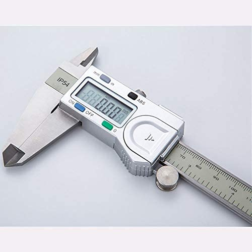 Color : Black, Size : 150mm ROBDAE Vernier Caliper Digital Display Electronic Caliper 0-150-200-300mm/×0.01mm Vernier Caliper Electronic Digital Caliper Calipers Measuring Tool