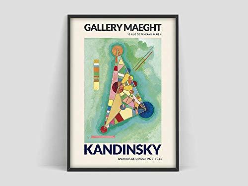 Póster de exposición, impresión artística, Museo de Arte Moderno de Nueva York, póster, lienzo decorativo sin marco familiar Al 30x45cm