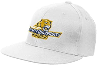 Averett White OttoFlex Flat Bill Pro Style Hat 'Averett University Cougars'