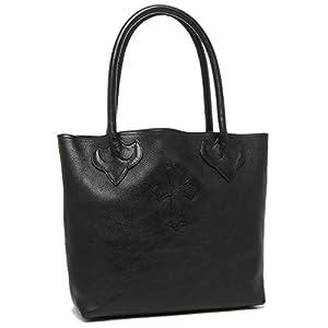 [クロムハーツ]バッグ CHROME HEARTS 117384 BLACK BAG TOTE FS LND メンズ トートバッグ 無地 BLACK 黒 ブラック [並行輸入品]