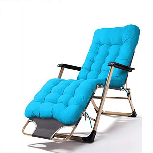 JKJ Asiento relajante de gravedad cero, silla de salón con reposapiés ajustable, respaldo reclinable, para interiores y exteriores y jardín, G
