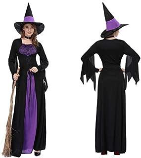 CYXBY Disfraz de Halloween Negro Femenina Carnaval ...