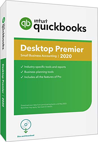 commercial QuickBooks Desktop Premier 2020 Small Business Accounting Software with Amazon Exclusive… accounting software