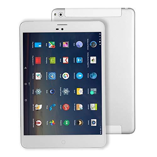 7.85 Pulgadas Tablet PC Android 4G-LTE - Winnovo M798 WiFi GPS Phablet Quad Core 16 GB ROM 1GB RAM Tarjeta SIM Ranuras Bluetooth Cámara Doble Metal Plateado