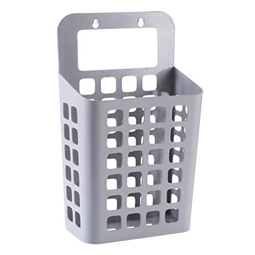 Fliyeong Cesta para la colada, lechón de plástico hueco cesta para la colada juguete sucio contenedor de ropa organizador para el hogar - gris claro rentable