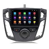 MALY Estéreo GPS Navigator De Coches Reproductor De Vídeo para Ford Focus 2012-2017 Navigator Inteligente Android Pantalla Grande Inversión De Vídeo Radio Player