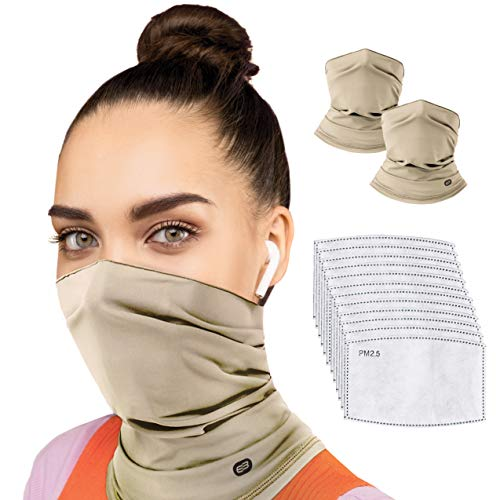 EVERYBREATH Premium FACE MASK with Certified Filters (Wheatfield Beige)