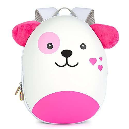 Boppi Tiny Trekker Zaino da viaggio per bambini - Zaino 4 litri - Cane Rosa