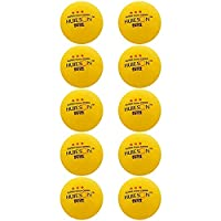 for Outdoor & Sports Tyg Huieson HS-YW10 10 PCS ABS卓球競技訓練、直径:40mm (色 : 黄)