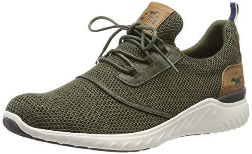 MUSTANG Herren 4132-301-777 Sneaker, Grün (Khaki 777), 45 EU