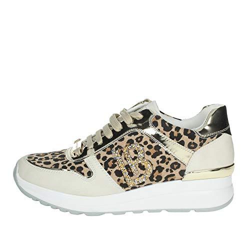 Laura Biagiotti 6102 Sneakers Frau Gefleckt 39