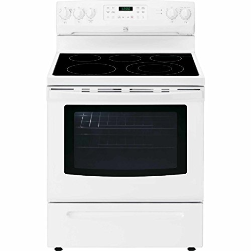 Kenmore 2294199 2294192 02294192 Self Clean Electric Range, White, 5.4 cu ft