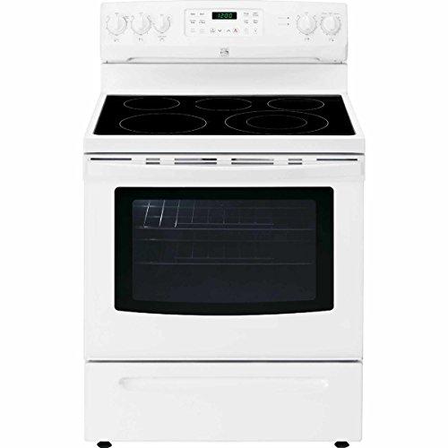 Kenmore 2294199 2294192 02294192 Self Clean Electric Range, White, 5.4 cu ft
