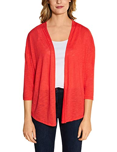 Cecil Damen 314711 Strickjacke, Tangerine orange, XX-Large