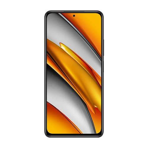 """Xiaomi Poco F3 Smartphone 6GB+128GB, cámara de 48MP, Snapdragon 870G,Pantalla AMOLED de 6,67"""", 4520 mAh Batería,versión Global (Negro)"""