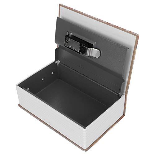 Book Safe, Safe Lock Box, con combinación Bithday, Regalo de Navidad para la colección de joyas