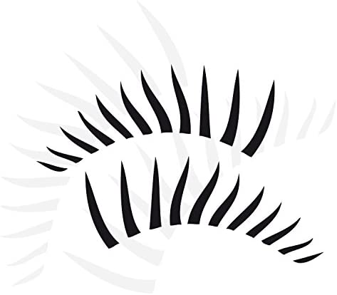 Klebe X Twingo Eyelashes For Car Sticker Car Tattoo In Your Choice Of Colour A00069 Auto