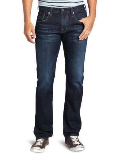 AG Adriano Goldschmied The Matchbox Herren Slim Straight Jeans in Robinson - Blau - 32W / 32L