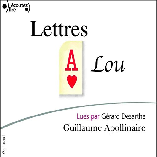 Lettres à Lou audiobook cover art