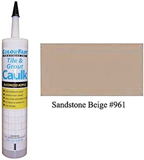 TEC Color Matched Caulk by Colorfast (Sanded) (961 Sandstone Beige)