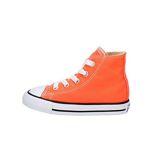 Converse Chuck Taylor all Star Fresh Colors High, Scarpe da Ginnastica Unisex-Bambini, Arancio, 20 EU