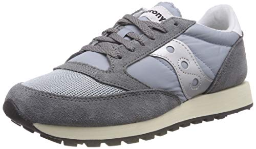 Saucony Jazz Original Vintage, Zapatillas de Cross Unisex Adulto, Gris (Grey/Blue/White 39), 44.5 EU