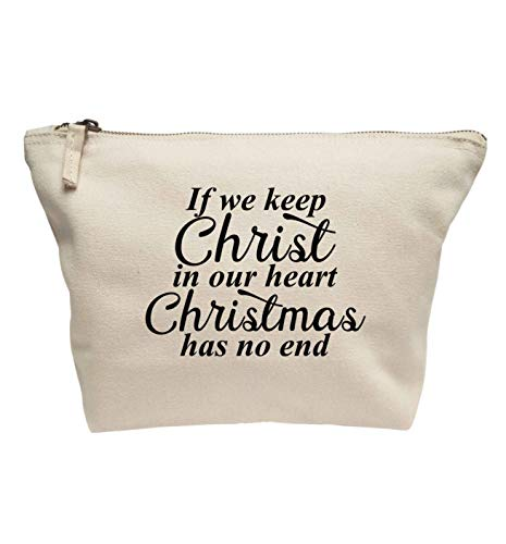 Flox Trousse de maquillage créative Christ in our hearts Christmas