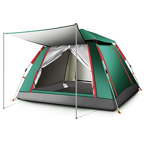 All'aperto Tenda pop-up 2-4 persone Gli sport Campeggio Escursionismo Tenda da viaggio con borsa per il trasporto