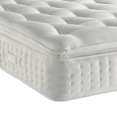 Sleep Factory Limited 3000 Organic Pillow Top Mattress Size 4FT6 Double (135 x 190 cm)