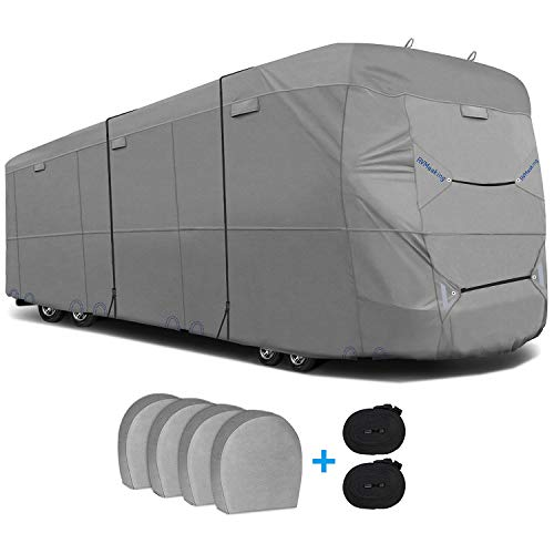 RVMasking 6 Layers Top Class A Rv Cover with 4