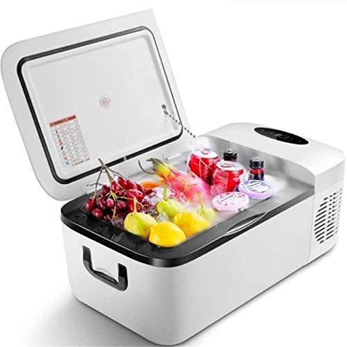LVYE1 MRMF Mini Refrigerador Congelador Portátil, Refrigerador Silencioso para Automóvil, Refrigerador Multifuncional Doméstico De 12 litros, Refrigerador Portátil Pequeño con Temperatura Ajustable