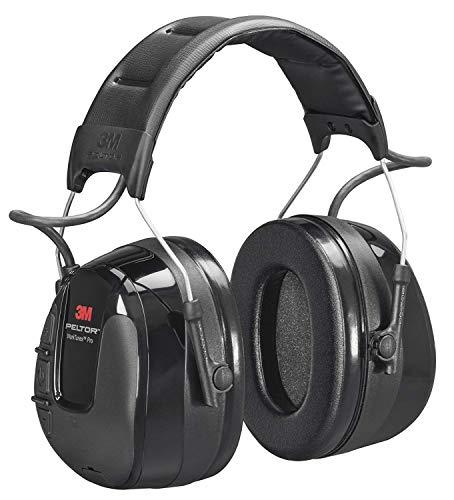 WorkTun(tm) Pro FM-radio headset van 3 m, Neu, zwart, 1